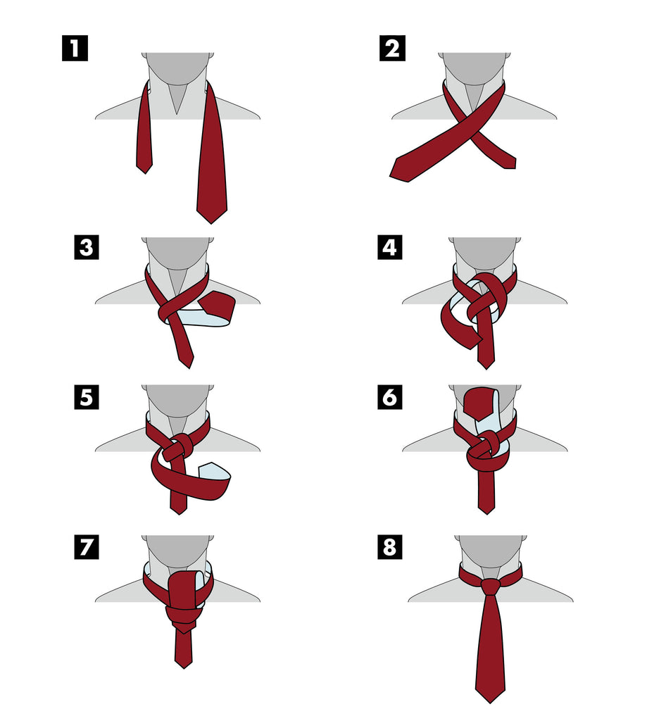 Half Windsor Knot | How To Tie A Tie