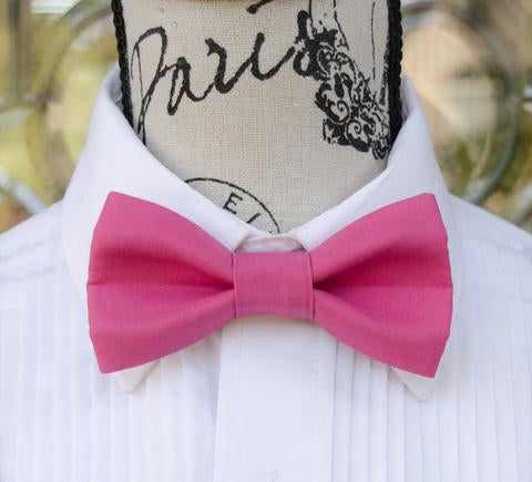 Magenta Bow Tie and Suspenders | Mens Bow Ties