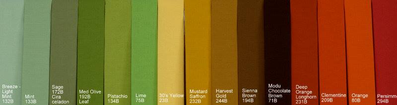 Bow Ties and Suspenders - Color Swatches - Mr Bow Tie
