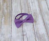 (31-139) Aubergine Bow Tie and/or Suspenders - Mr. Bow Tie