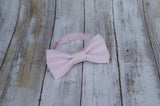 (11-30) Baby Pink Bow Tie - Mr. Bow Tie