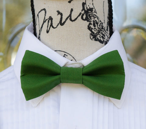 (61-330) Basil Green Bow Tie - Mr. Bow Tie