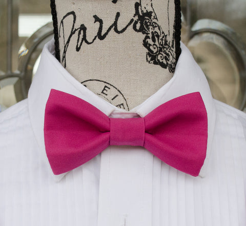 (14-214) Berry Pink Bow Tie - Mr. Bow Tie