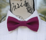 (23-217) Boysenberry Bow Tie - Mr. Bow Tie