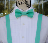 (48-216) Caribbean Bow Tie and/or Suspenders - Mr. Bow Tie