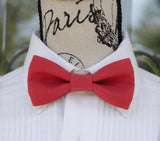 (19-230) Cherry Red Bow Tie - Mr. Bow Tie
