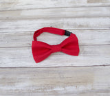 (19-16) Christmas Red Bow Tie - Mr. Bow Tie