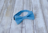 (42-137) Coastal Blue Bow Tie and/or Suspenders - Mr. Bow Tie