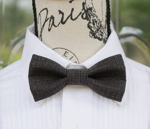 Black Retro Bow Tie - Mr. Bow Tie