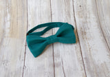 (50-110) Dark Teal Bow Tie and/or Suspenders - Mr. Bow Tie