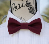 (21-114) Deep Burgundy Wine Bow Tie - Mr. Bow Tie