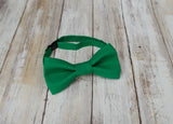 (61-268) Emerald Green Bow Tie - Mr. Bow Tie