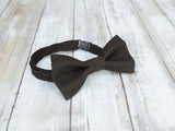 (62-280) Espresso Brown Bow Tie and/or Suspenders - Mr. Bow Tie