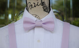 (28- 249) Light Lilac Bow Tie and/or Suspenders - Freesia - Mr. Bow Tie
