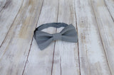 (66-202) Graphite Gray Bow Tie and/or Suspenders - Mr. Bow Tie