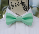(52-65) Aqua Green Bow Tie and/or Suspenders - Mr. Bow Tie
