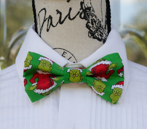 The Grinch Bow Tie - Mr. Bow Tie
