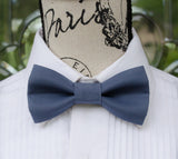 (39-218) Indigo Bow Tie and/or Suspenders - Mr. Bow Tie