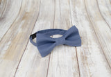 Blue Bow Tie and Suspenders (Indigo Blue Suspenders and Bow Tie) for Weddings, Prom, Graduation and Formal Events. Bow Tie and Suspenders are Handmade and Made in Canada. Made by Mr. Bow Tie.