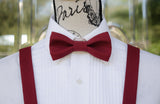 (20-150) Winterberry Bow Tie and/or Suspenders - Mr. Bow Tie