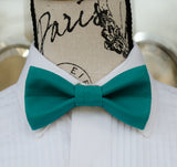 (50-270) Lagoon Medium Teal Bow Tie - Mr. Bow Tie