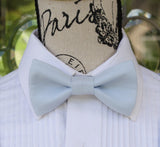 (42-63)  Light Blue Bow Tie and/or Suspenders - Mr. Bow Tie