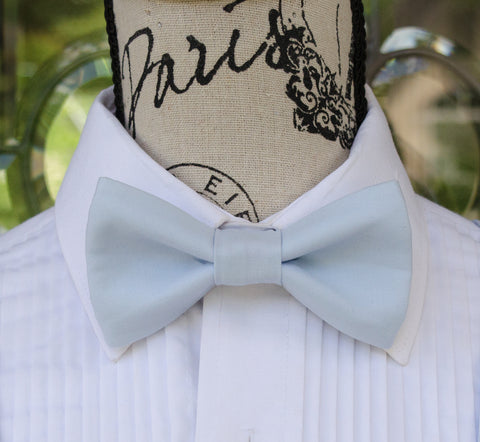 (42-63)  Light Blue Bow Tie - Mr. Bow Tie