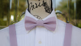(29-66) Lilac Bow Tie and/or Suspenders - Mr. Bow Tie