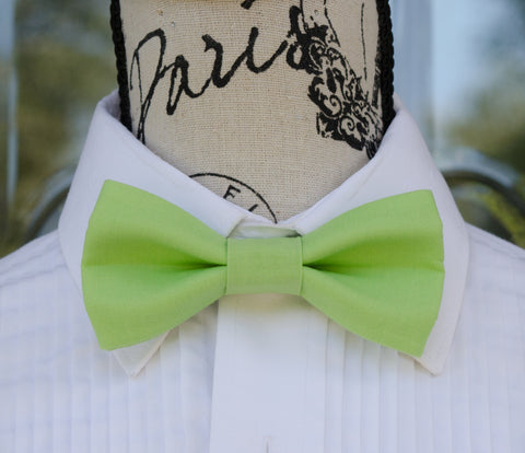 (58-75) Lime Green Bow Tie - Mr. Bow Tie