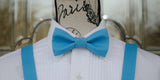 (42-142)  Lil Boy Blue Bow Tie and/or Suspenders - Mr. Bow Tie