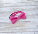 (14-92) Magenta Pink Bow Tie and/or Suspenders - Mr. Bow Tie