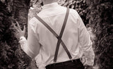Black Bow Tie and Suspenders (Black Suspenders and Bow Tie) for Weddings, Prom, Graduation and Formal Events. Bow Tie and Suspenders are Handmade and Made in Canada. Made by Mr. Bow Tie