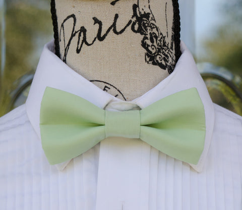 (56-133) Mint Green Bow Tie - Mr. Bow Tie