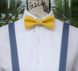 (001) Mix and Match Bow Tie and Suspenders - Mr. Bow Tie