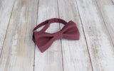 (26-300) Mulberry Wine Bow Tie - Mr. Bow Tie