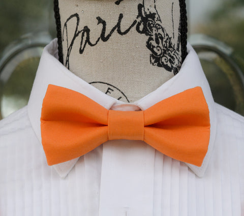 (05-80) Orange Bow Tie - Mr. Bow Tie