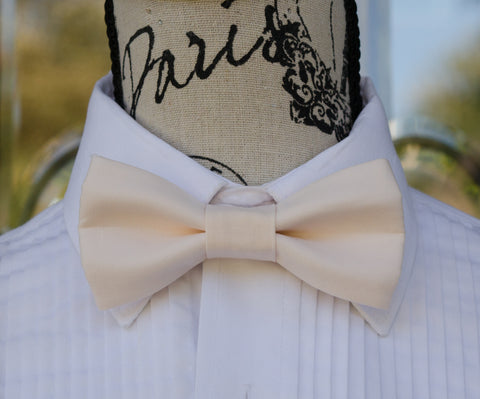 (10-26) Champagne Pink Bow Tie - Mr. Bow Tie