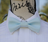 (43-247) Pastel Blue Bow Tie and/or Suspenders - Mr. Bow Tie
