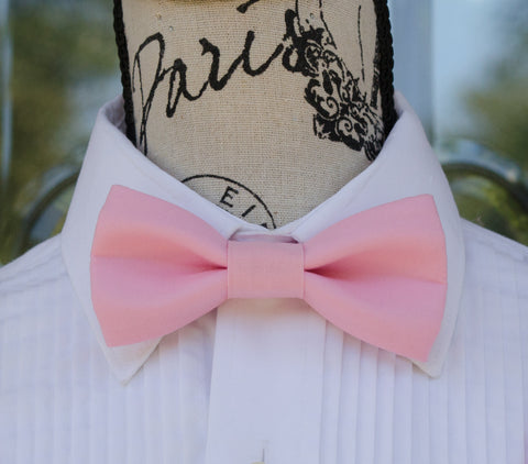(14-166) Pink Bow Tie - Mr. Bow Tie