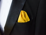 (001) Pocket Squares - Solid Colours - Mr. Bow Tie
