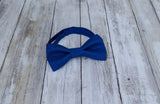 (39-19) Royal Blue Bow Tie - Mr. Bow Tie