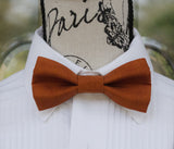 (04-46M) Rust 2 Tone Bow Tie and/or Suspenders - Mr. Bow Tie