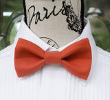 Sunset Orange Bow Tie (224)
