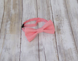 (16-89) Tea Rose Bow Tie and/or Suspenders - Mr. Bow Tie