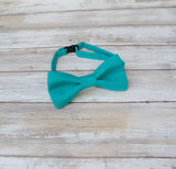 (47-107) Turquoise Bow Tie and/or Suspenders - Mr. Bow Tie