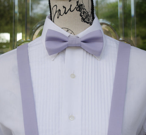 (38-215) Wisteria Bow Tie and/or Suspenders - Mr. Bow Tie