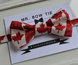Canada Flag Bow Tie - Mr. Bow Tie