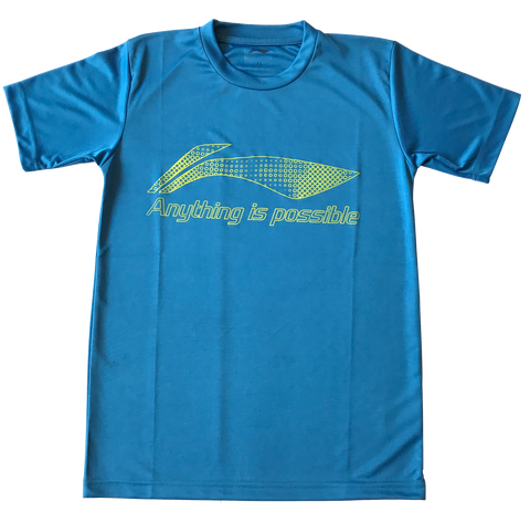 Li-Ning Roundneck T-Shirts - Anything Is Possible-Proshack.in