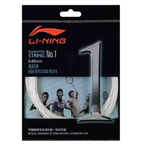 Li-Ning String No.1 Badminton Racket String (Pack of 5)-Proshack.in