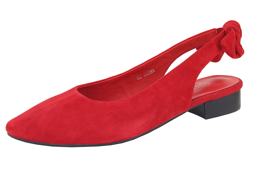 993 - SUEDE RED
